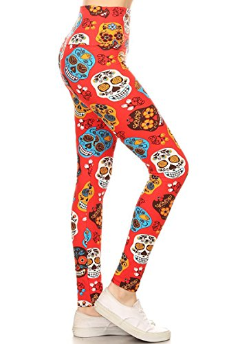 Leggings Depot LY5R-S533 One Size (S-L/Size 2-12)