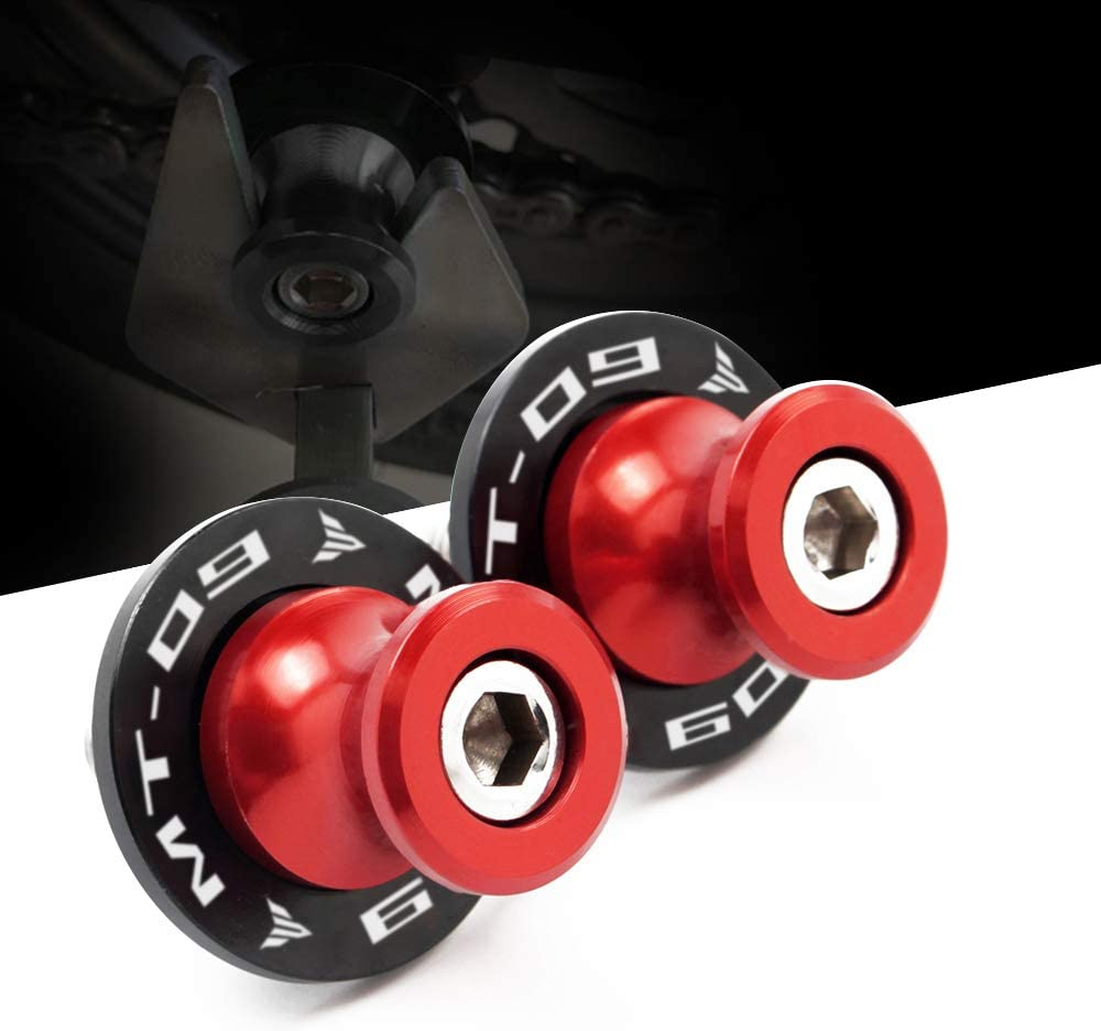 CXEPI Motorcycle M6 CNC Aluminum Swing Arm Spools Sliders for Yamaha MT09 MT-09 2013-2020