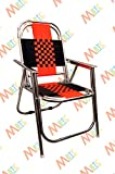 Mbtc Familo Stripe Chair In Chromium Finish