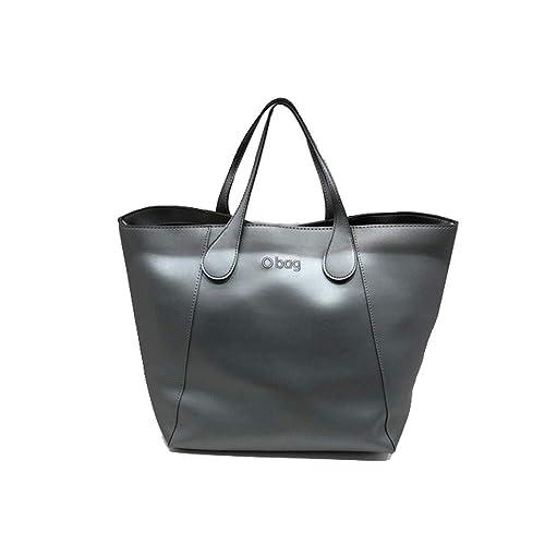 obag Bolso completo modelo Sweet color gris plata de capsula Soft: Amazon.es: Zapatos y complementos