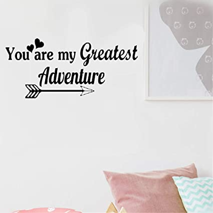 Amazoncom Room Wall Stickers Quotes Removable Vinyl Mural Decal