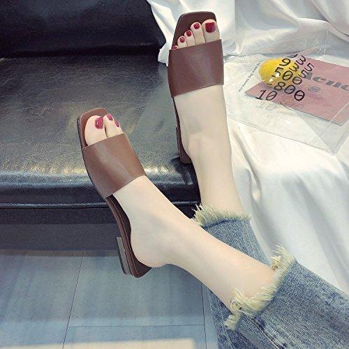 nbsp;Small rosa ITTXTTI unica sandali Cut comfort sandali Bai scarpe hole da donne primavera scarpe della Hollow estate Joy donna toe taglia Low Bei piatto 39 HFBwF