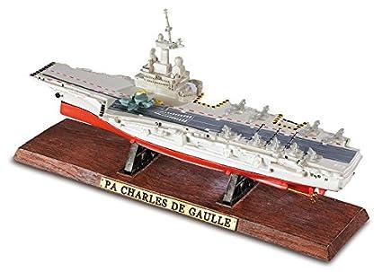 Maqueta de portaaviones Charles de Gaulle: Amazon.es: Hogar