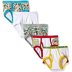 Dreamworks Little Boys' Captain Underpants 5 Pack Brief, Captain Underpants Multi, 4