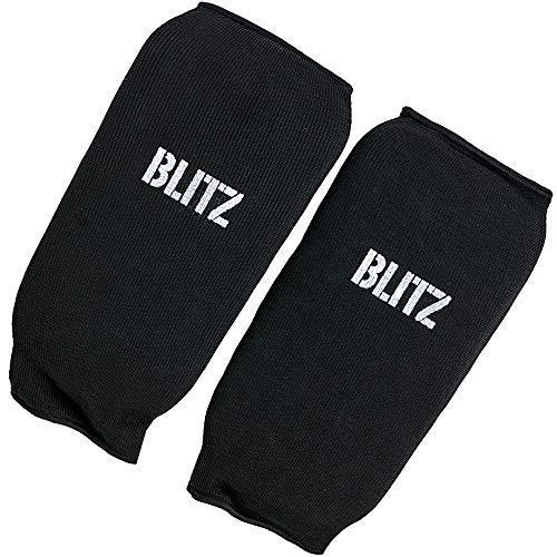 Blitz Unisex's Elastic Forearm Pads, Black, Medium