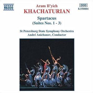 ハチャトゥリアン:スパルタカス組曲第1番 - 第3番