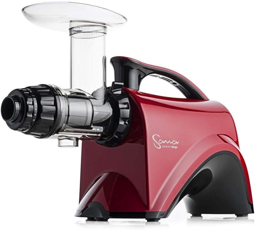 Extractor de zumos Sana 606 (Rojo)
