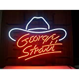 GEORGE STRAIT Handcraft Real Glass Neon Light Sign19x15!!!