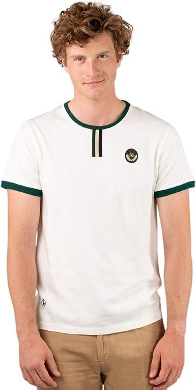 El Ganso Casual 1 Camiseta, Blanco (Blanco 0019), X-Large ...