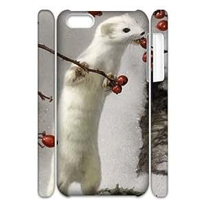 GGMMXO Cute Weasel Phone 3D Case For Iphone 5C [Pattern-5]