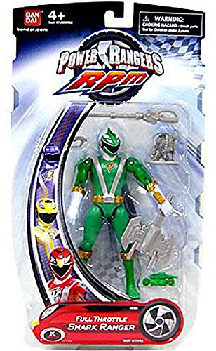 Power Rangers RPM 5 Inch Basic Action Figure Full Throttle Shark Ranger -