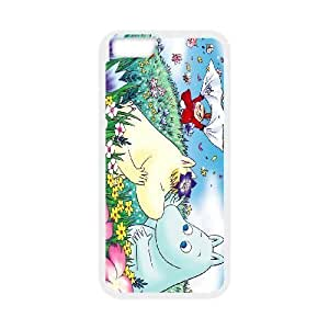 iPhone 6 4.7 Inch White Cases Cell Phone Case Sxqdk Moomin Valley Plastic Durable Cover