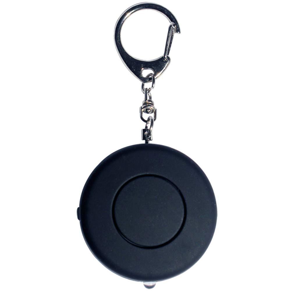 AUEDC Attaque personnelle Alarme Porte-cl/és alarmes personnelles Portables avec Lampe de Poche LED adapt/é aux Femmes Filles Enfants /étudiants /âg/és Travailleurs de Nuit aventurier