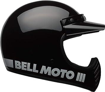 Bell 7081022 Moto-3 Classic Casco, Negro, Talla S