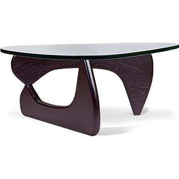 Table Basse Noguchi Style Noyer Amazon Fr Cuisine Maison