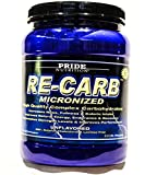 Best Complex Carbohydrate Powder – Pride Nutrition RE-CARB Micronized Unflavored 2.11g For Sale