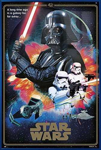 Star Wars: Episode IV - A New Hope - Framed Movie Poster / P