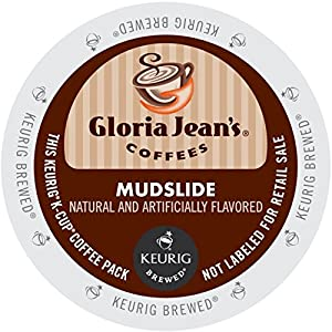 Gloria Jean's Coffee, Mudslide, K-Cup Portion Pack for Keurig Brewers