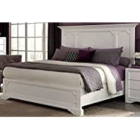 Donny Osmond Home Queen Bed/Furiani Collection, White, Not Applicable
