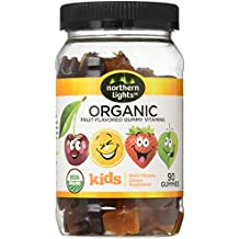 Northern Lights Kid's Organic Complete Gummy Multivitamins, 90 Count (30 Day Supply)