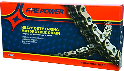 100 Chain Links (Fire Power 520FPO-100 520 O-Ring Heavy Duty Chain - 100 Link - Natural)