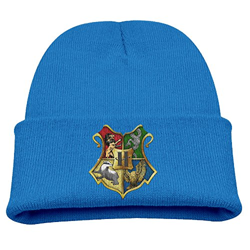 Price comparison product image Winter Cap Harry Potter Hogwarts Logo Trendy Soft Children's