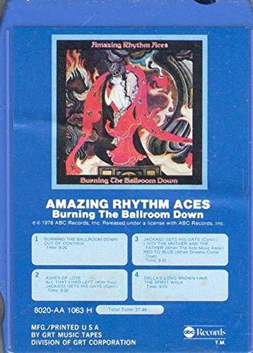 AMAZING RHYTHM ACES: Burning the Ballroom Down -3258 8 Track Tape (Amazing Rhythm Aces Burning The Ballroom Down)