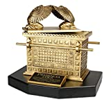 Lighthouse Christian Products Moments of Faith XL Ark of The Covenant Spanish Sculpture, 14 x 12 x 10 1/2''