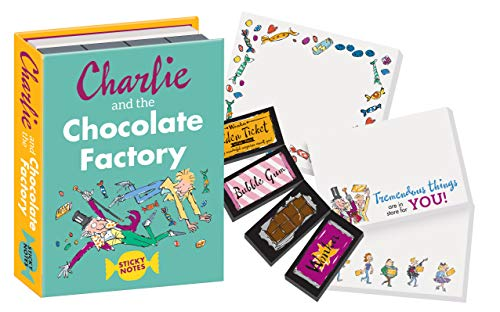 Charlie and The Chocolate Factory Sticky Notes Booklet