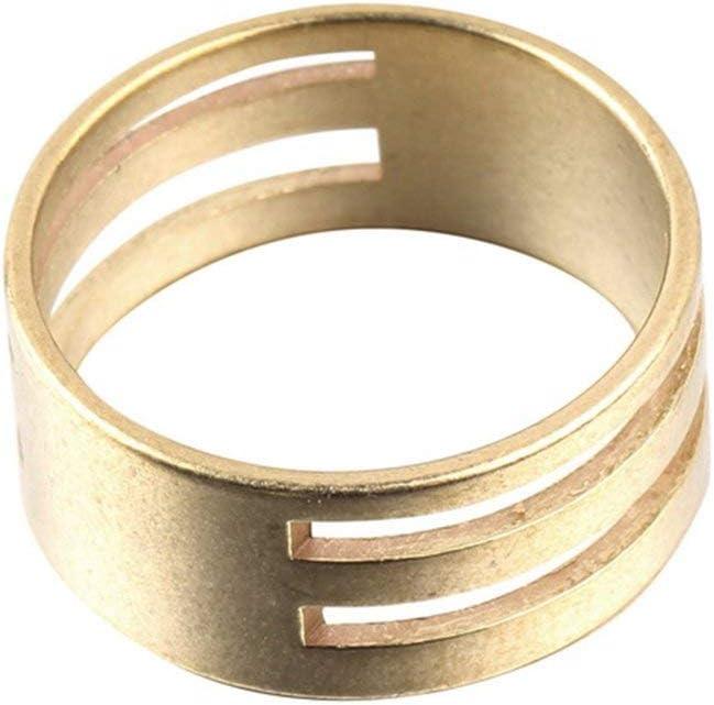 Noradtjcca Messing Farbe M/änner Frauen Biegering /Öffnen und Schlie/ßen Werkzeuge Fingerringe DIY Ohrringe Handwerkzeuge Ring Schmuckzubeh/ör