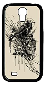 Hard Snap On Case with Abstract Painting Intense Chasing Printed Back Protective Case Cover for Samsung Galaxy S4 I9500