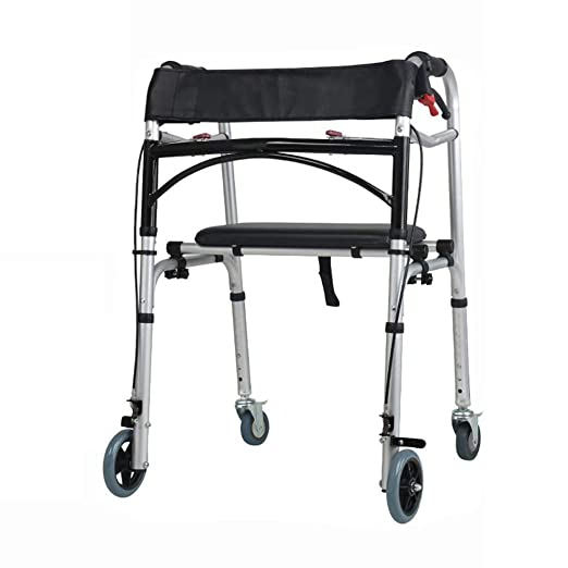 Byrhgood Walker Elderly Walker Rehabilitation Cuatro Ruedas Puede ...