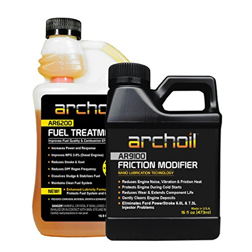 Archoil Performance Kit P-1 for All Vehicles - 16oz AR9100 Friction Modifier + 16oz AR6200 Fuel Treatment (Archoil Inc)