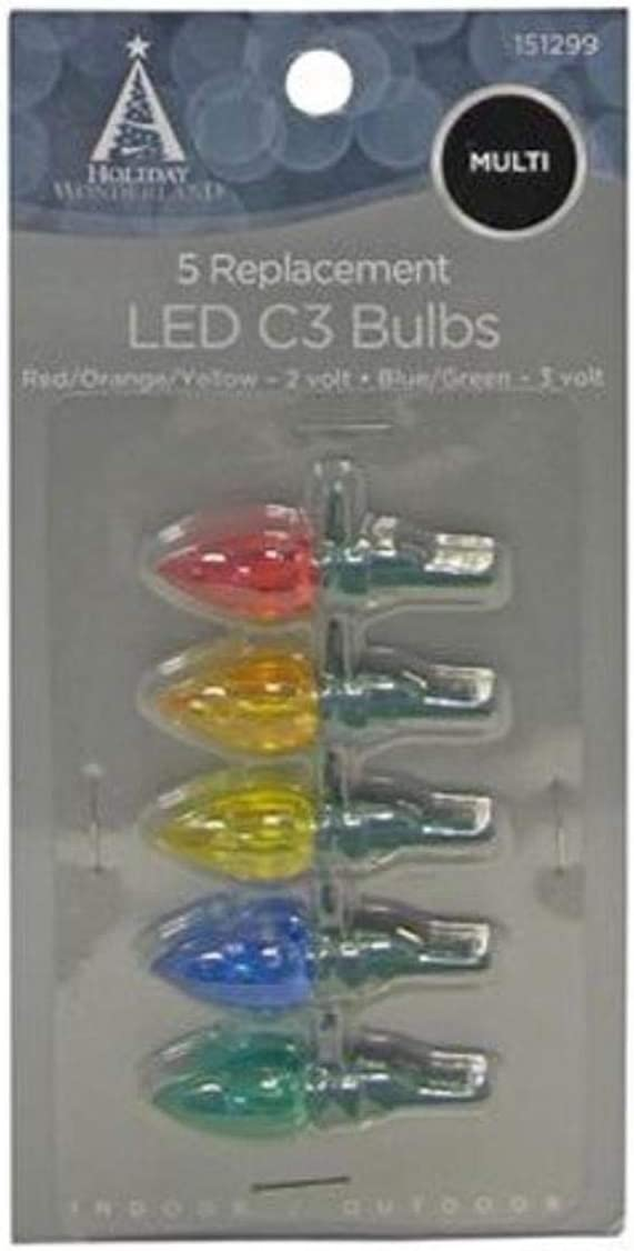 Color Celebrations 11200-71 C6 Led Replacement Bulbs Multi