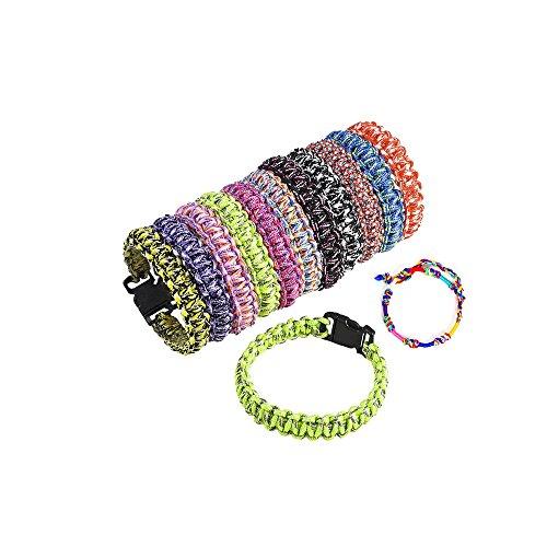 (Paracord Bracelet Woven 8.25