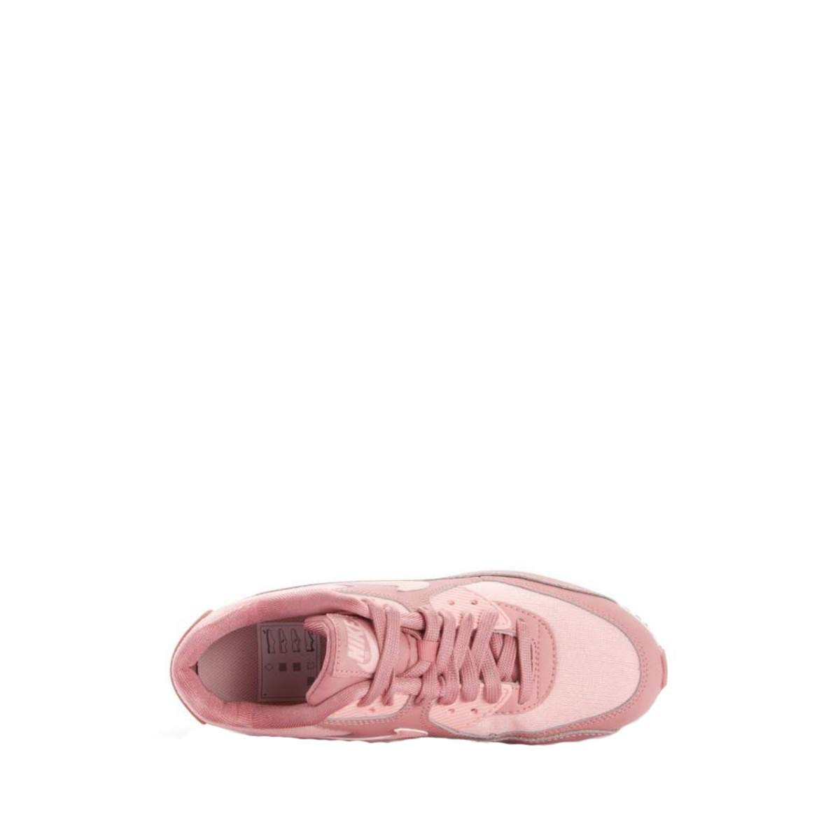 NIKE Damen Air Max 90 Se Mesh Pink/Storm (Gs) Sneakers, Mehrfarbig (Rust Pink/Storm Mesh Pink/Guava Ice/Weiß 001) 825571