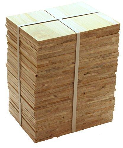 Tiger Claw Wood Breaking Board - Breakable Board in 8 mm Thickness (1/2 Case - 45 Board Pack)
