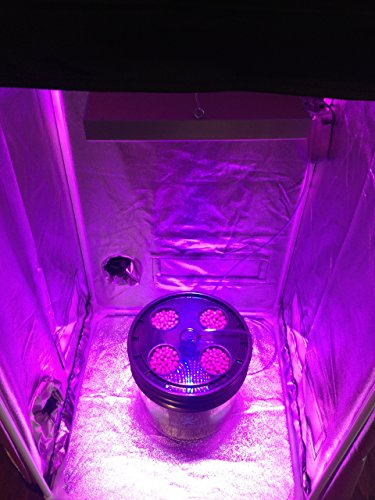 New 4 Site Hydroponic Grow Room - Complete Grow System with Grow Tent - LED Grow Lights Hydroponic System 2