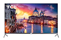 TCL's 6-Series combines stunning 4K HDR picture performance and the award-winning Roku TV smart platform in a bold, brushed metal design for a superior TV experience. Dolby Vision delivers greater brightness and contrast, as well as a fuller ...
