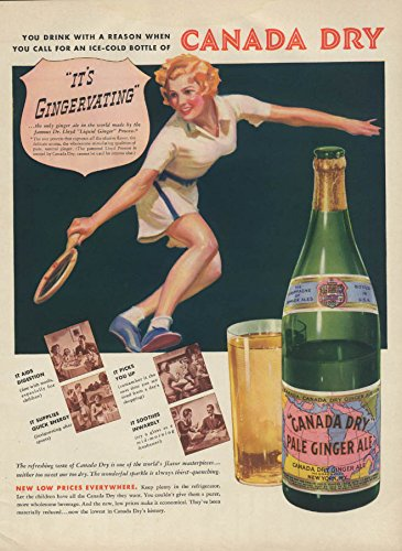 canada-dry-ginger-ale-is-gingervating-ad-1937-girl-plays-tennis