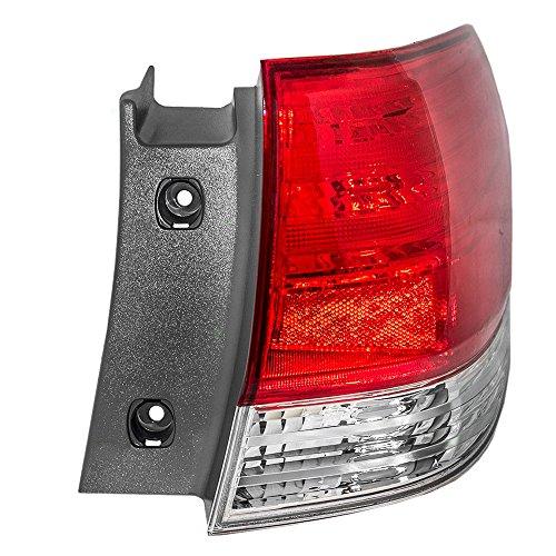Passengers Taillight Tail Lamp Replacement for Honda Van 33501SHJA51 AutoAndArt