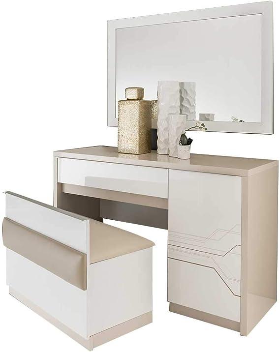 ITALIE FPM Thomas - Conjunto de Dormitorio Moderno con Armario ...