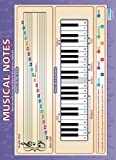 "Musical Notes |Music Educational Chart in high gloss paper (33"" x 23.5"") SHIPS 5-10 DAYS"