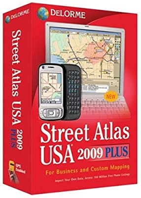 DeLorme Street Atlas USA Plus 2009 [OLD VERSION]