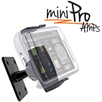 iBOLT miniPro AMPS Universal Car Mount for iPhone 5 / 6 / 6s plus / 7 / 8 / X ,Samsung Galaxy S8 / S7 / Note 4 / Note 5 / Note 8, Sonys , LG , MotoX , HTC s - comes with multiple mounting options
