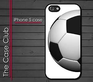 iPhone 5 Rubber Silicone Case - Soccer Ball FC Futsal Futbol Club Soccer Ball wangjiang maoyi