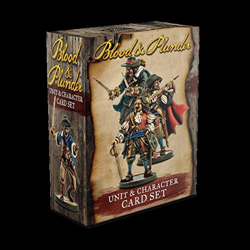 FireLockGames Blood and Plunder: Unit & Character Card Set by FireLockGames