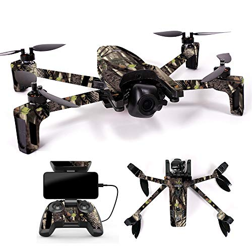 MightySkins Skin for Parrot Anafi Drone - Tree Camo | Protective, Durable, and Unique Vinyl Decal wrap Cover | Easy to Apply, Remove, and Change Styles | Made in The USA