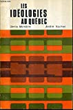 img - for Les Ideologies Au Quebec Une Bibliographie book / textbook / text book