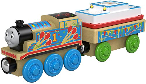 Fisher-Price Thomas & Friends Wood, Birthday Thomas for $<!--$13.99-->